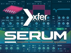 Xfer Records - Serum 1.2.3b7 VSTi, AAX (x64/x86) [En]