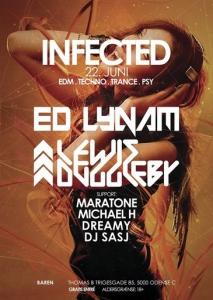 Ed Lynam - Live @ Infected, Odense, Denmark 2019-06-22