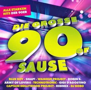 VA - Die Grosse 90er Sause - Alle Starken Hits Der 90er
