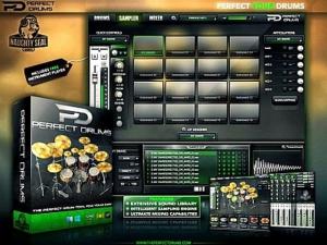 Naughty Seal Audio - Perfect Drums 1.6.0 STANDALONE, VSTi, VSTi3, AAX, WIN.OSX x64 [En]