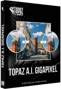 Topaz Gigapixel A.I. 5.4.2 RePack (& Portable) by elchupacabra [En]