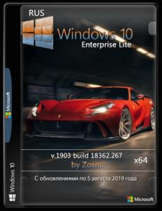 Windows 10 Enterprise x64 lite 1903 build 18362.418 by Zosma