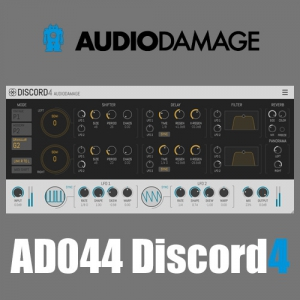 Audio Damage - AD044 Discord4 4.0.9 VST, VST3, AAX (x86/x64) Retail [En]