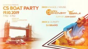 Milan Lieskovsky - Live @ CS Boat Party, United Kingdom 2019-10-19
