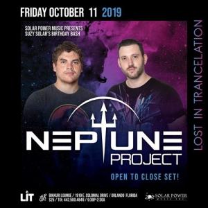 Neptune Project - Live @ Lost in Trancelation, Bikkuri Lounge Orlando, United States 2019-10-11