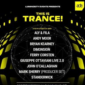 VA - Live from Luminosity presents This Is Trance! Club Panama, Amsterdam ADE 19-10-2019