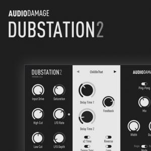 Audio Damage - AD036 Dubstation 2 2.1.0 VST, VST3, AAX (x86/x64) Retail [En]