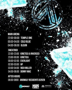 Cold Blue - Live @ Anomaly, Tunnel Club Birmingham, United Kingdom 2019-10-12