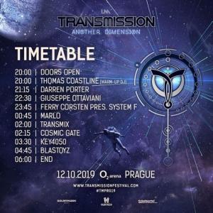 VA - Live @ Another Dimension, Transmission Prague, O2 Arena Prague, Czech Republic 2019-10-12