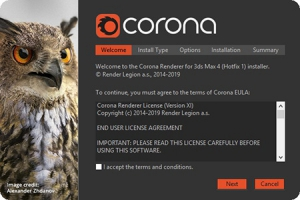 Corona Renderer 4 (Hotfix 1) for 3ds Max 2013-2020 [En]