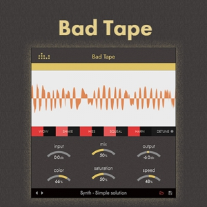 Denise Audio - Bad Tape 1.0.1 VST, VST3, AAX (x86/x64) Retail [En]