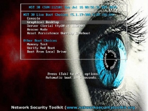 Network Security Toolkit (NST) 30-11210 [x86_64] 1xDVD