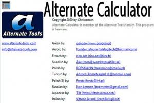 Alternate Calculator 3.480 [Multi/Ru]