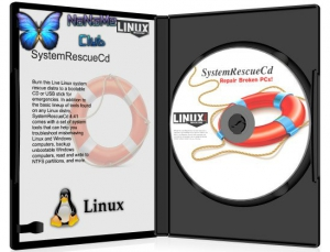 SystemRescueCD 6.1.0 [x64] 1xCD
