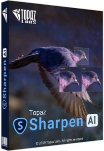 Topaz Sharpen AI 2.1.7 RePack (& Portable) by elchupacabra [En]