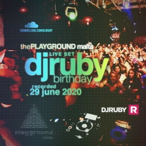 DJ Ruby - Live at The Playground, Malta 2020-06-29