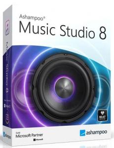 Ashampoo Music Studio 8.0.2.1 RePack (& Portable) by TryRooM [Multi/Ru]