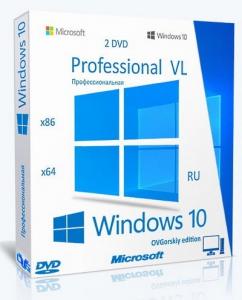 Microsoft® Windows® 10 Professional VL x86-x64 20H2 RU by OVGorskiy 01.2021