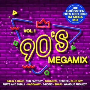 VA - 90s Megamix Vol.1: Die Grossten Hits Der 90er