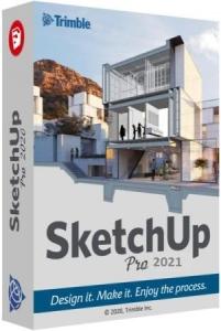 SketchUp Pro 2021 21.1.332 RePack by KpoJIuK [Ru/En]