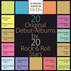 VA - 20 Original Debut-Albums by 20 Rock & Roll Stars
