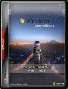 Windows 7 Enterprise SP1 x64 Rus by OneSmiLe