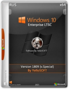 Windows 10.0.17763.316 Enterprise LTSC Version 1809 (x64) [v.Special] by YelloSOFT [RU]