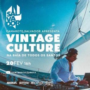 Vintage Culture - Live @ Camarote Salvador, Baía de Todos os Santos, Brazil