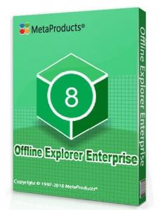 MetaProducts Offline Explorer Enterprise 8.1.4896 RePack (& Portable) by TryRooM [Multi/Ru]