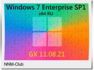 Windows 7 Enterprise SP1 x64 RU [GX 24.09.21] by geepnozeex [Ru]