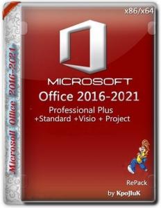 Microsoft Office 2016-2021 LTSC Professional Plus / Standard + Visio + Project 16.0.14430.20234 (2021.09) (W10) RePack by KpoJIuK [Multi/Ru]