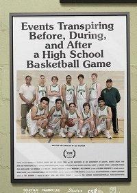 События, происходящие до, во время и после баскетбольного матча в школе