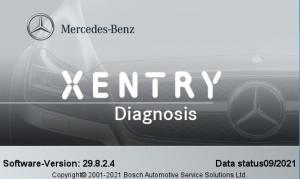 Xentry PassThru 21.9.3 [Multi/Ru]
