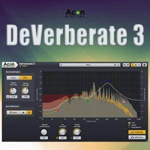 Acon Digital - DeVerberate 3 3.0.3 VST, VST3, AAX (x86/x64) [En]